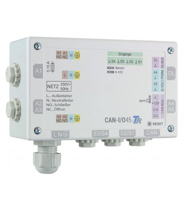 CAN-I/O45 udvidelsesmodul