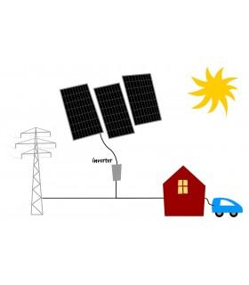 Solcelleanlæg Midi