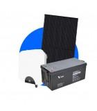 Komplette solcelleanlæg